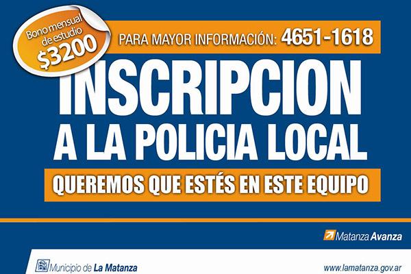 La Matanza - Policía Local 2016/12
