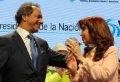 A Cristina y a Scioli no los une el amor