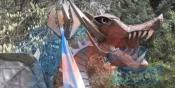 Carbone: el hombre de la estatua del dragón investigado por fraude a la administración pública